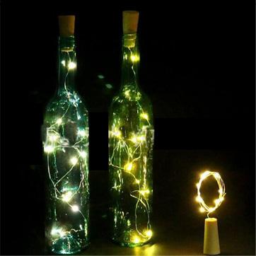 flaske kork String lys